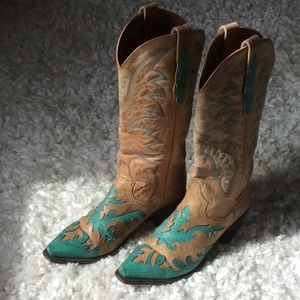 Dan Post Leather Boots